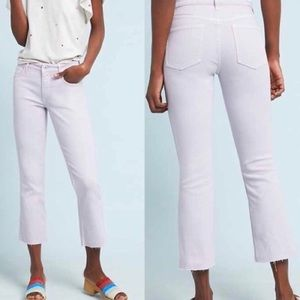Anthropologie Pilcro Purple HighRise Bootcut Jeans
